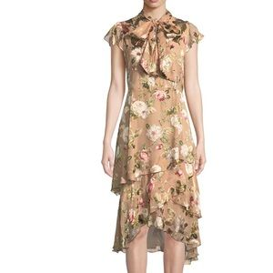 NWT Alice and Olivia Lavenia Tiered Ruffle Dress 4